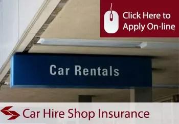 car hire shop insurance in Ireland