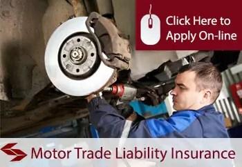 motor trade garage services insurance