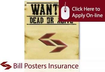 bill posters public liability insurance