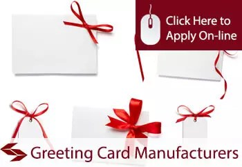 greeting card manufacturers public liability insurance
