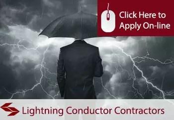 lightning conductor contractors public liability insurance