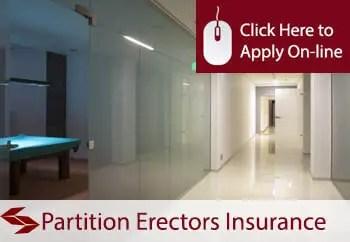 partition erectors public liability insurance