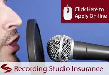 recording studios public liability insurance