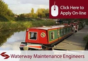 waterways maintenance engineers public liability insurance