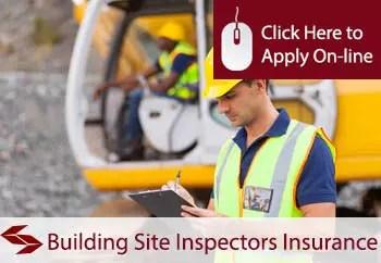 building site inspectors public liability insurance