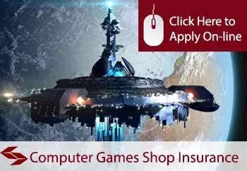 computer games shop insurance in Ireland