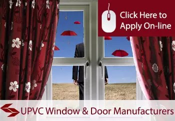 UPVC window and door manufacturers and installers liability insurance