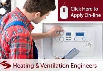 heating and ventilation engineers public liability insurance
