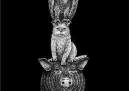 L'aquila, la scrofa e la gatta - Lia Mariani