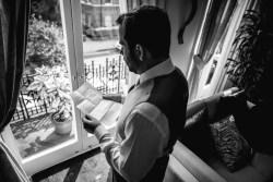 groom getting ready london