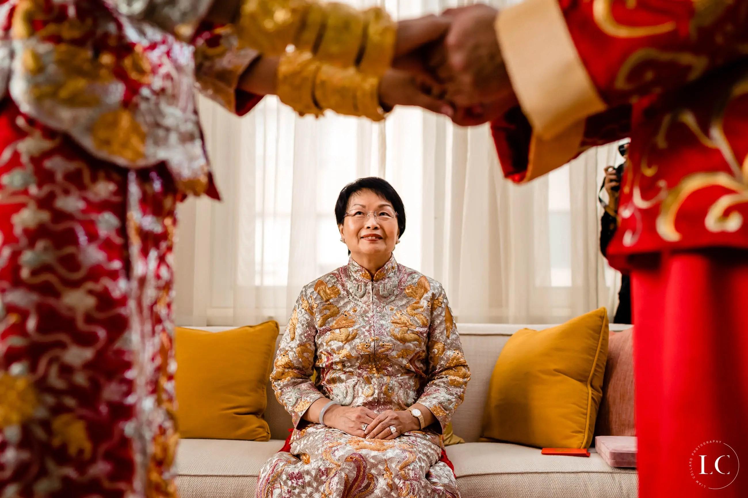 Mother of the bride Hong Kong