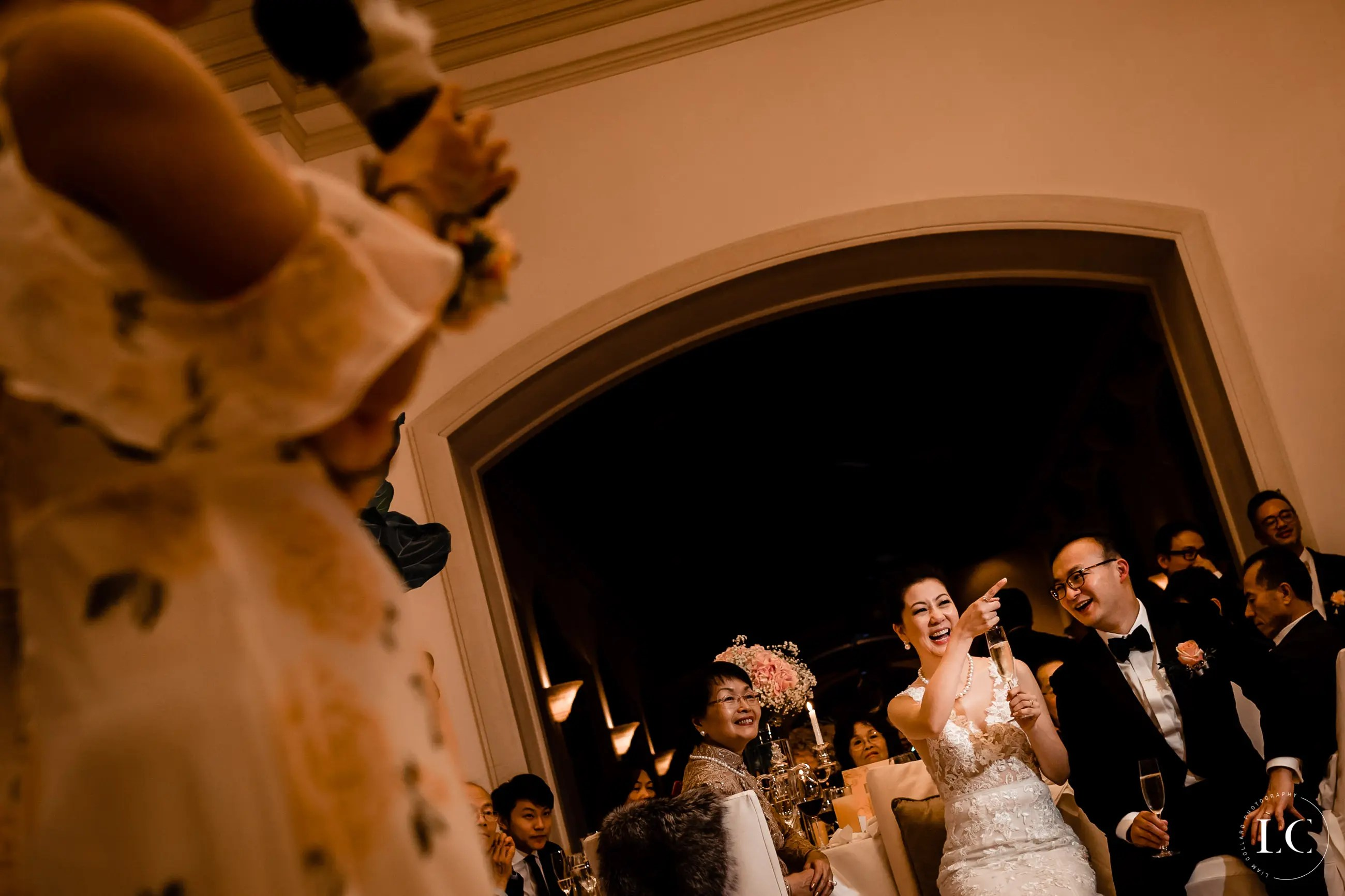 Speeches at Hong Kong wedding