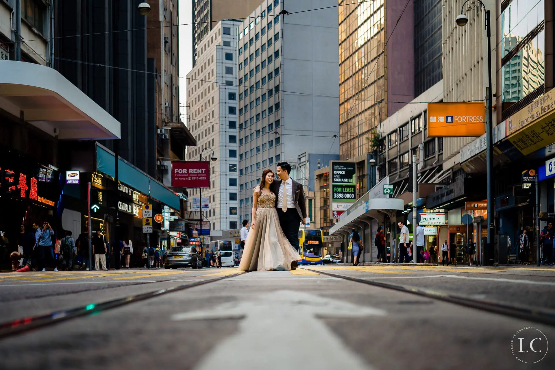 Bride and groom NYC