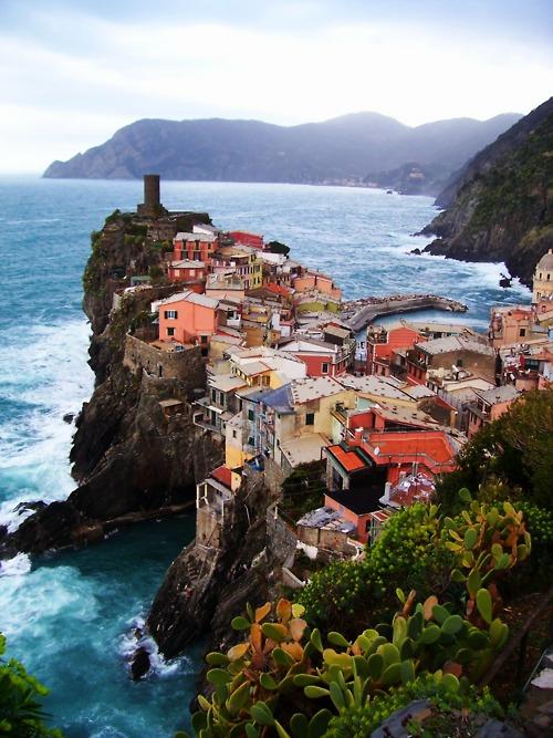 Edge of the Sea, Vernazza, Italy