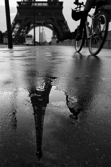 Eiffel Reflection, Paris, France