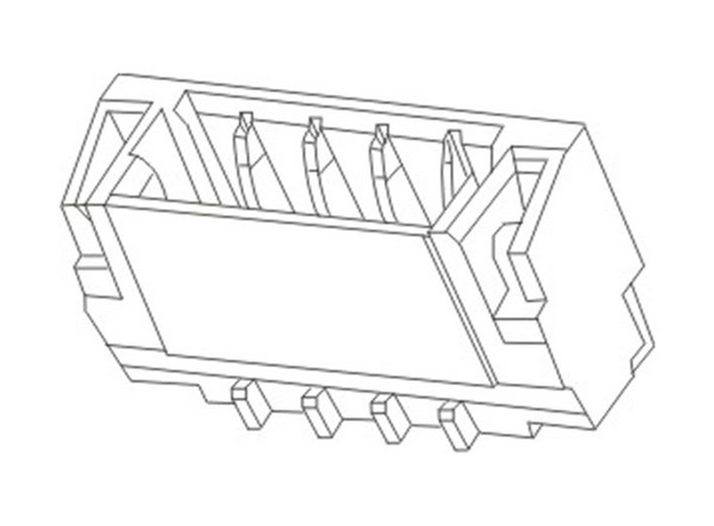 Box Header Series Ejector Header Wafer Housing Terminal