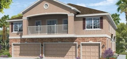 South Tampa New Construction Homes in Maintenance Free Community