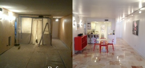 Before and After Makeover: My Client's Foreclosure Condo Purchase