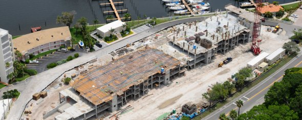 Water Club Snell Isle Construction Continues…