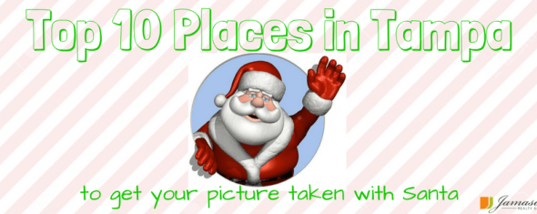 Top 10 Places in Tampa Bay to Take Pictures with Santa 2017