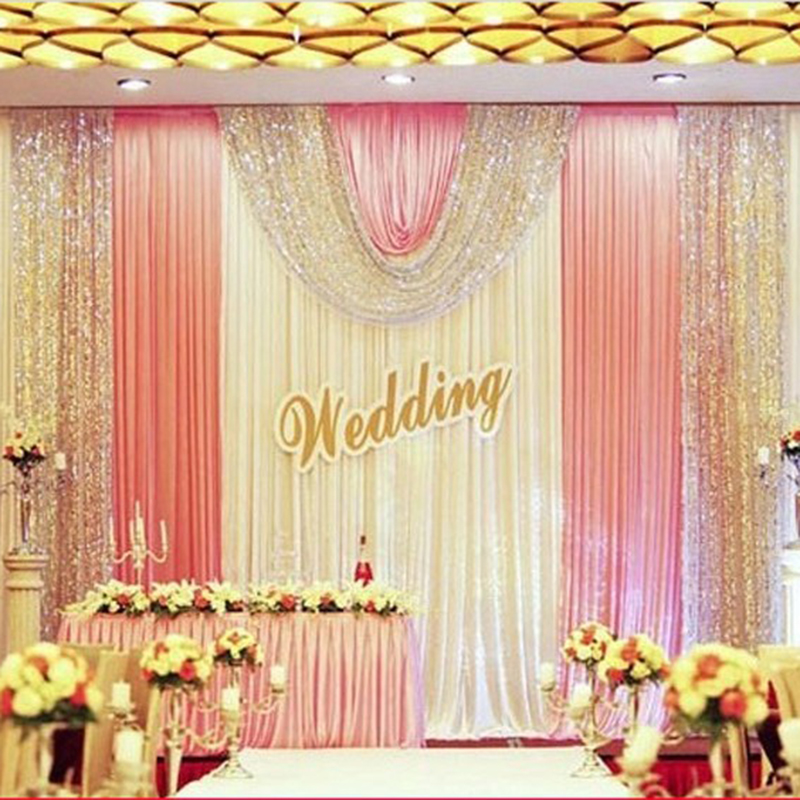 10x20ft Party Stage Backdrops For Wedding Decoration Background