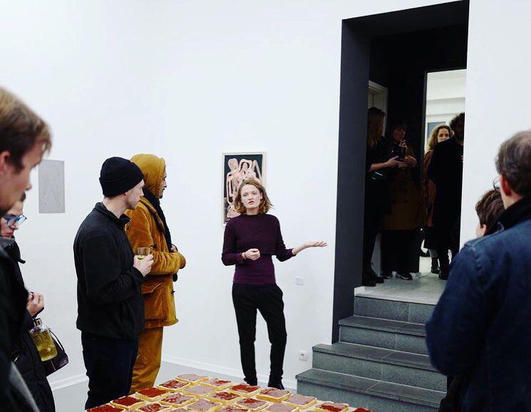 Artist talk with Lia Sáile @ Leikela gallery, Berlin
