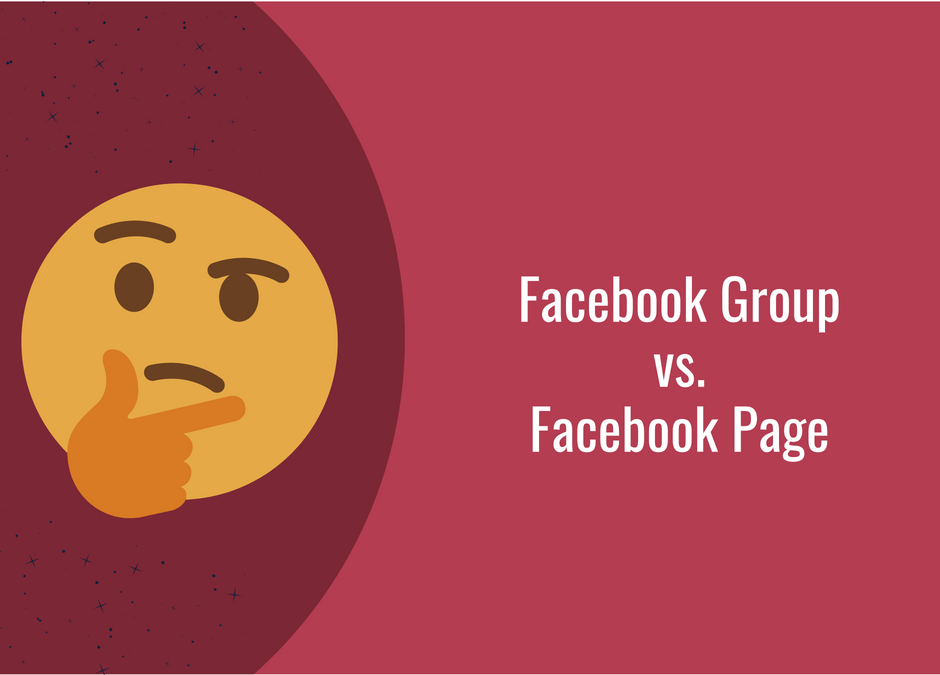 Facebook Group vs. Facebook Page – One Really Simple Example