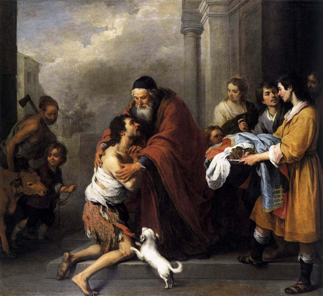 Η επιστροφή του ασώτου - Bartolome Esteban Murillo 1667-1670