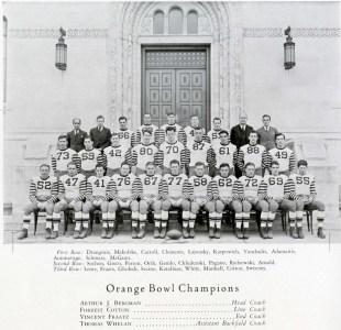 The 1936 CUA Football Team