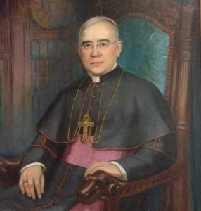 A rendering of Francis Howard, the fifth Bishop of Covington, Kentucky
