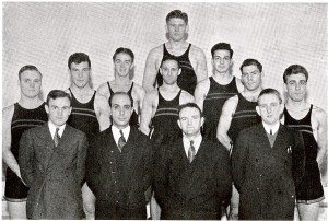 The 1938 CUA Boxing Team