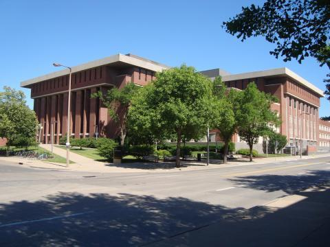 Exterior photo of Main Library