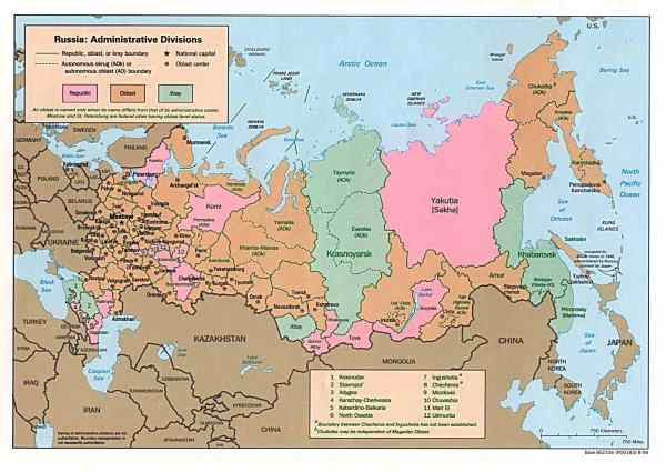 Dagestan Maps - Perry-Castañeda Map Collection - UT ...