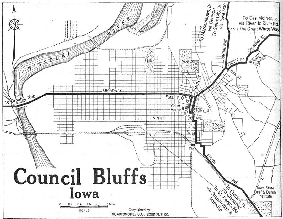 Map Lake Park Iowa City