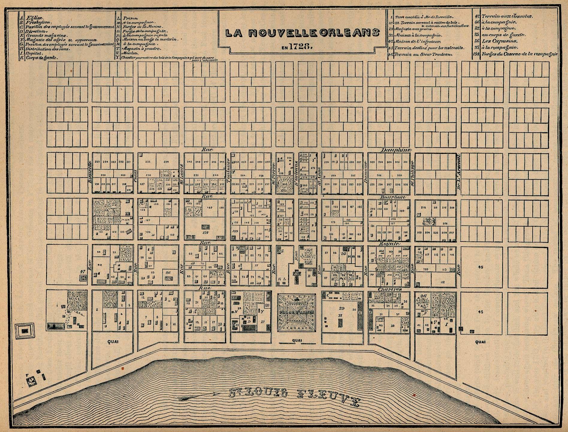 Louisiana Maps