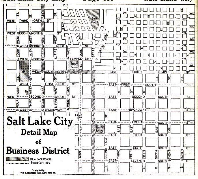 George Map Streets St Utah