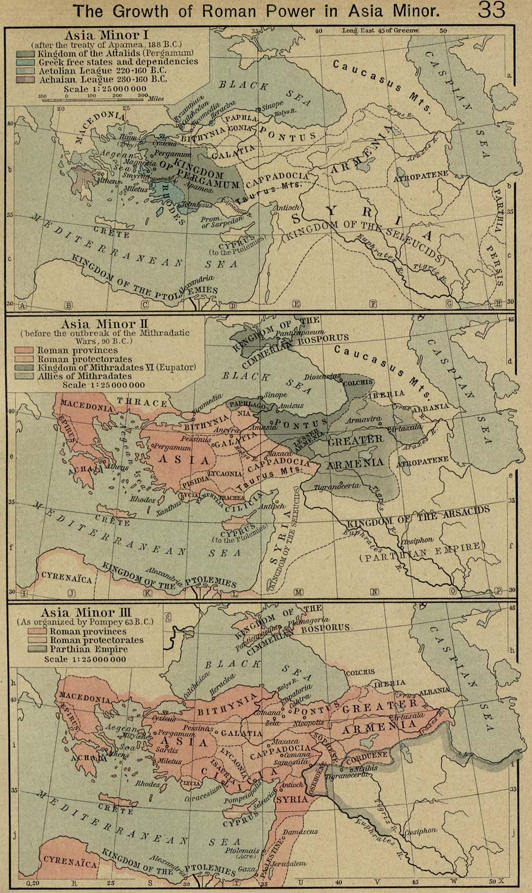 Middle East Historical Maps