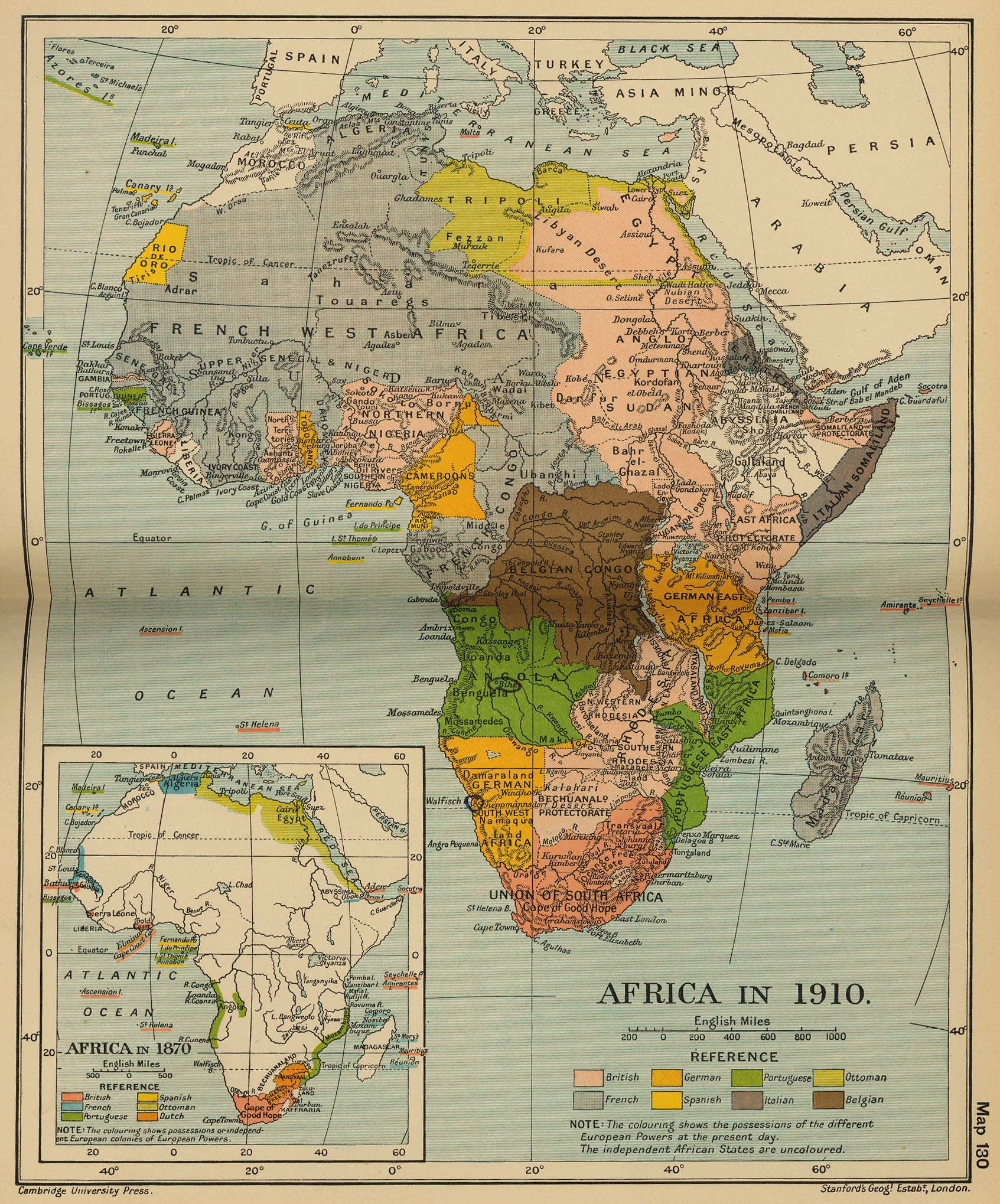 The Colonisation Of Africa