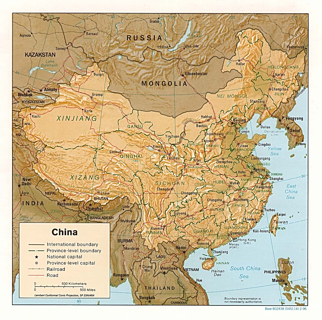Chinese Geography Readings And Maps