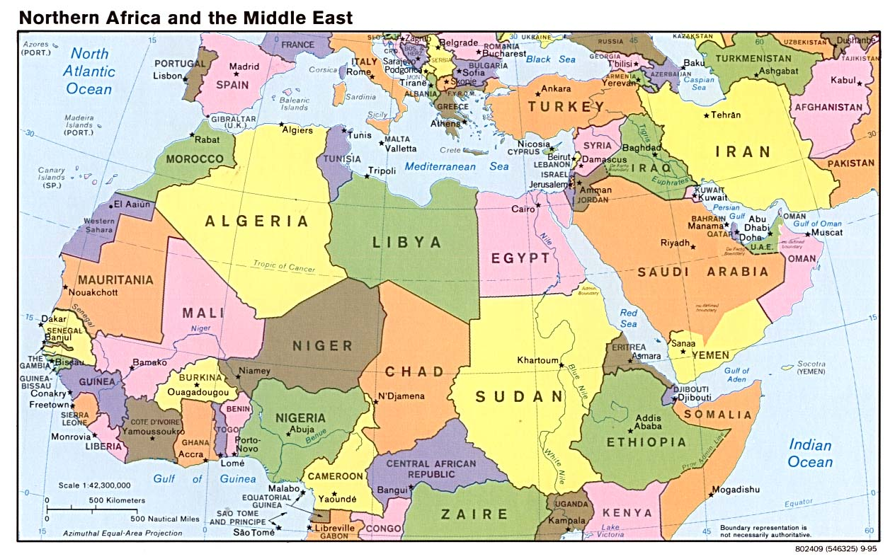Global Connections Mapping The Middle East