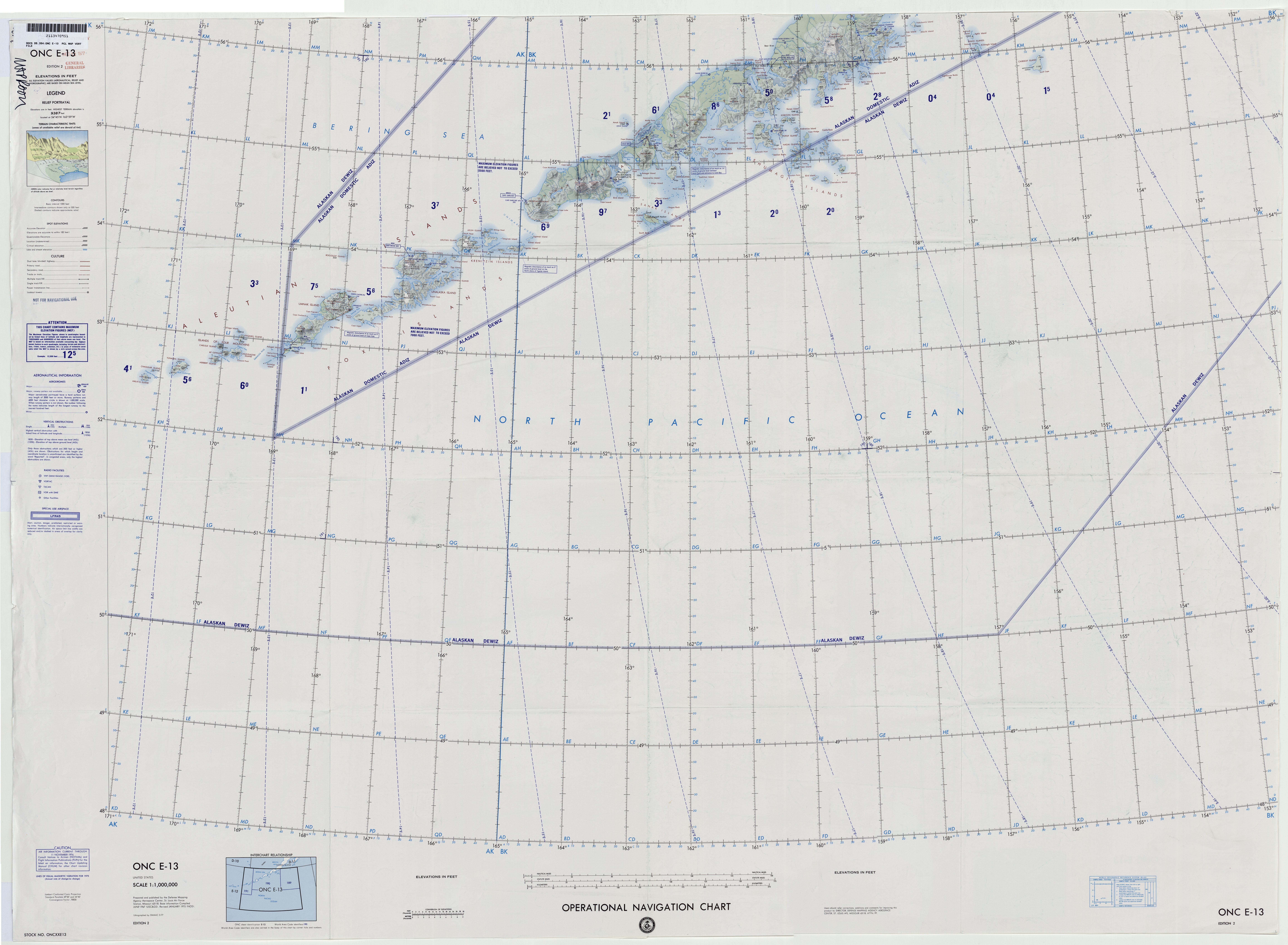 Free Americas Pacific Operational Navigational Charts