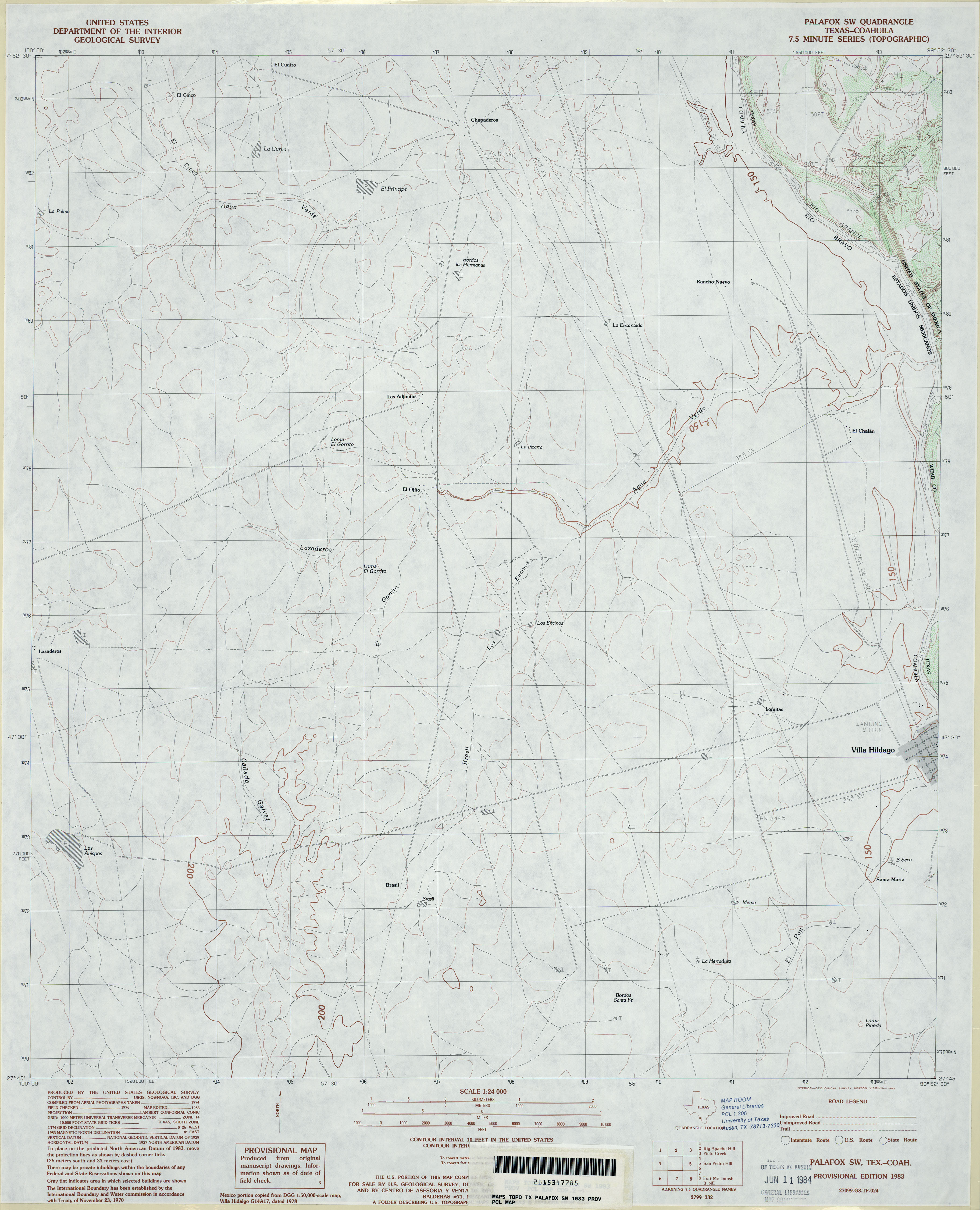 Texas Topographic Maps