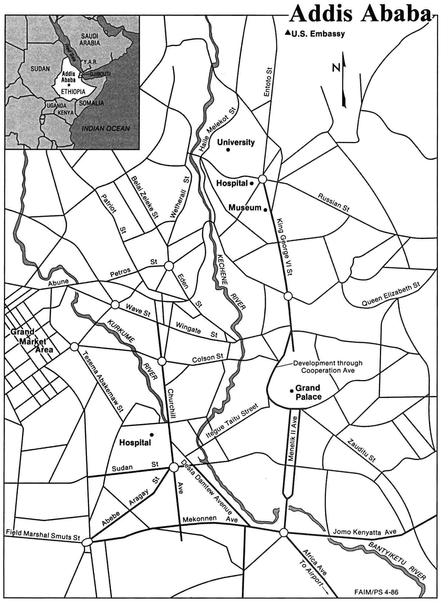 Ethiopia Maps