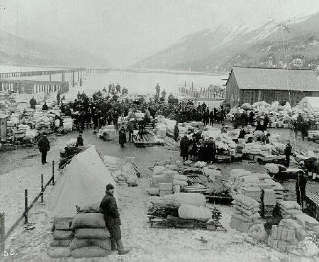 Image result for skagway gold rush