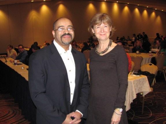 Brent Leary and Rebecca Jones