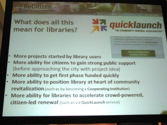 What does this mean for libraries?