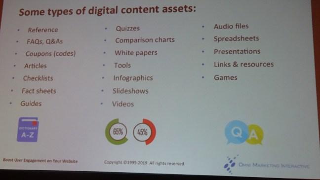 Digital Content Assets