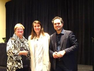 (L-R) Jane Dysart, Carmen Pereira, Fedele Canosa
