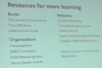 Resources for further learning