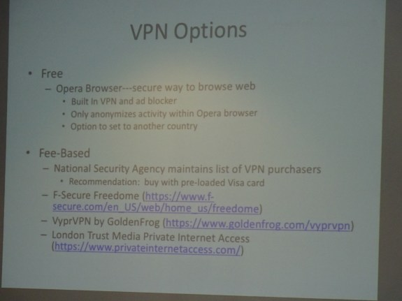 VPN Options